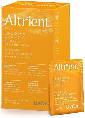 Altrient C – Liposomal Vitamin C – Lypospheric Lypo-Spheric Vitamin C -Vitamin C 1000mg – 30 Sachets