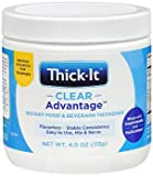 Thick-It Clear Advantage Instant Food & Beverage Thickener Powder - 4 oz, Pack of 3