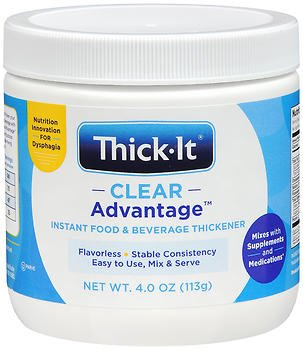 Thick-It Clear Advantage Instant Food & Beverage Thickener Powder - 4 oz, Pack of 2