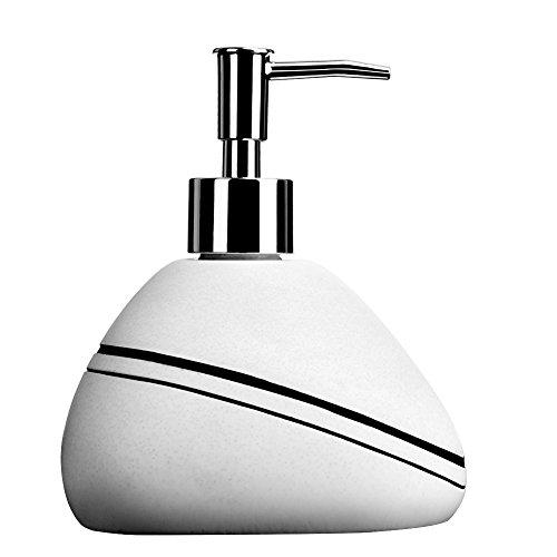- Tornadooo 16 oz. Soap Dispenser Bottles, Ceramic Hand Kitchen Soap Dispenser Great for Essential Oils, Lotions, Liquid Soaps