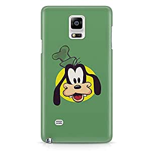 Loud Universe Goofy Face Samsung Note 5 Case Goofie Face Green Samsung Note 5 Cover with 3d Wrap around Edges