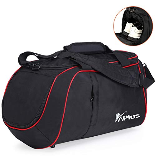 Gym Bag with Shoe Compartment Large Waterproof Workout Duffle Bag for Men and Women by Aplus Review