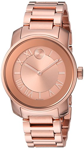 Women s Swiss Quartz ROSEGOLD Plated Casual Watch Model - Movado 3600441