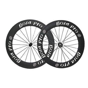 Sapim Carbon Tubular Front Wheel 50mm cx-ray Road Bike 700C 3k Matt Rim 25mm