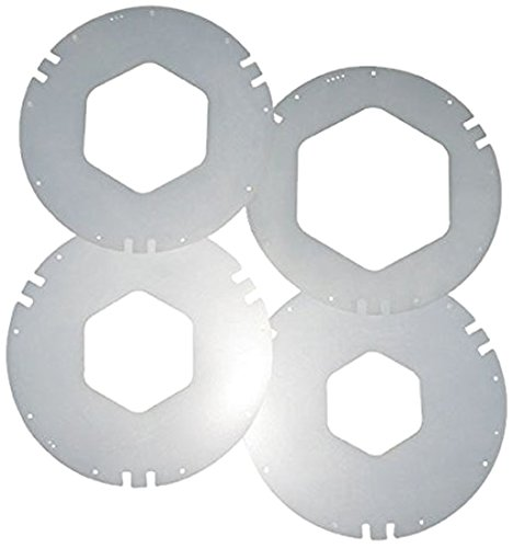 - San Jamar XC2426 Gasket Variety Pack for San Jamar 2410C, C2410C, and C241OC18 In-Counter Cup Dispensers