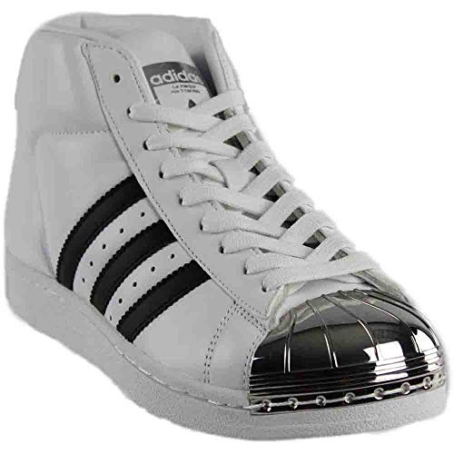 adidas Womens Promodel Casual Sneakers, White, 6.5 (Adidas Performance Womens Sellwood W Fashion Sneaker)