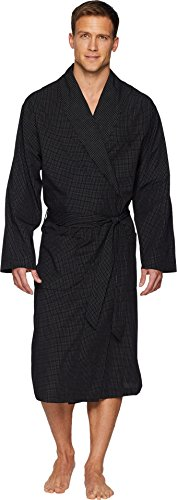 Polo Ralph Lauren Men's Woven Robe Soho Plaid Large/X-Large