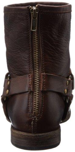 Frye - Zapatos de piel para mujer Marrón (Marron (Dbn))