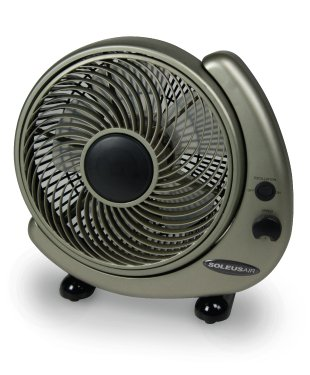Soleus FT-25-A Table or Wall Fan, 10