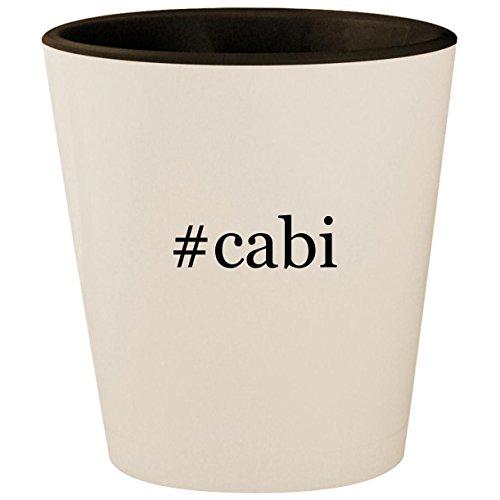 Warmer Taiji Towel (#cabi - Hashtag White Outer & Black Inner Ceramic 1.5oz Shot Glass)