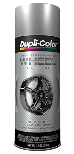 Dupli-Color HWP101 Silver High Performance Wheel Paint - 12 oz. (2 PACK)
