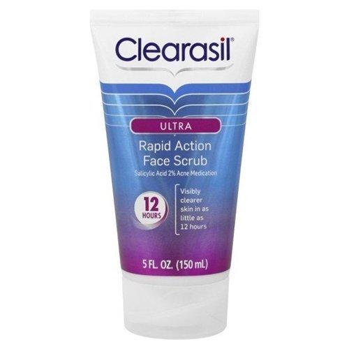 Clearasil Rapid Action Face Scrub - 1