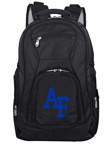 Air Force Backpacks - Denco NCAA Air Force Falcons Voyager Laptop Backpack, 19-inches, Black