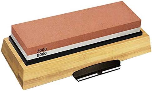 砥石両面コランダム削り石3000/8000キッチンナイフストレート刃先研磨ブロック
