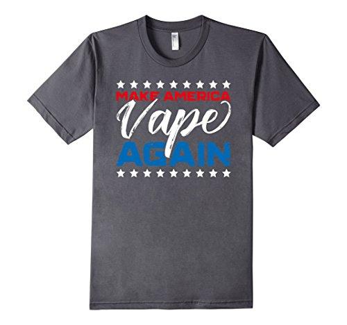 Men's Make America Vape Again - Funny Vaporizer T-Shirt - Unisex XL Asphalt (Smooth Vaporizer compare prices)