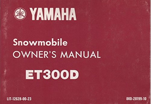 Yamaha enticer trainers4me 1980 yamaha enticer et300d snowmobile owners manual lit 12628 00 23 867 asfbconference2016 Images