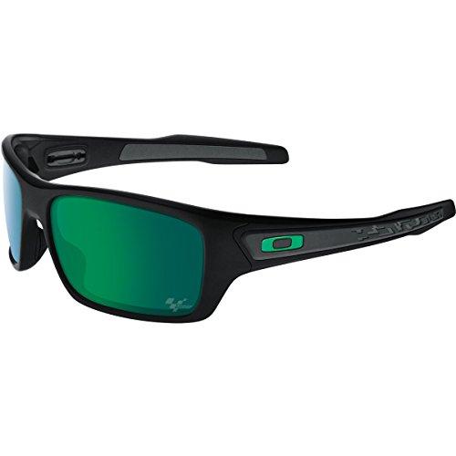 Oakley Men's Turbine OO9263-15 Rectangular Sunglasses, Matte Black, 65 - Polarized Turbine Oakley
