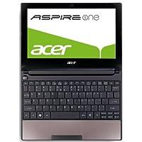 Acer Aspire One D255 25,4 cm (10 Zoll) Netbook (Intel Atom N550, 1,5GHz, 1GB RAM, 250GB HDD, Intel 3150, Win 7 Starter) braun