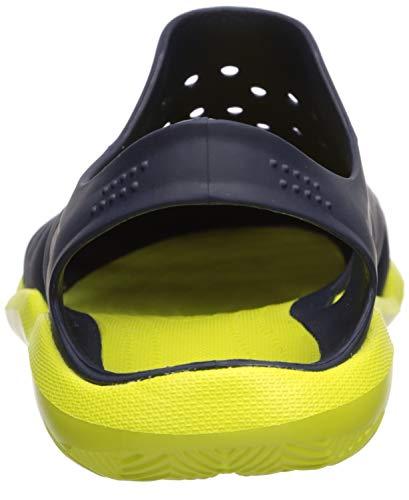 Crocs Men's Swiftwater Wave M Water Shoe Navy/Citrus 4 M US by Crocs (Image #2)