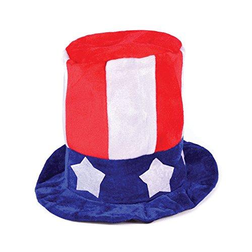 Forum Novelties Men's Promotional Uncle Sam Top Hat