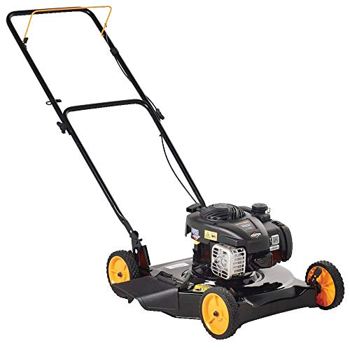 Poulan Pro 961120130 PR450N20S Briggs 450e Side Discharge Push Mower in 20-Inch Deck
