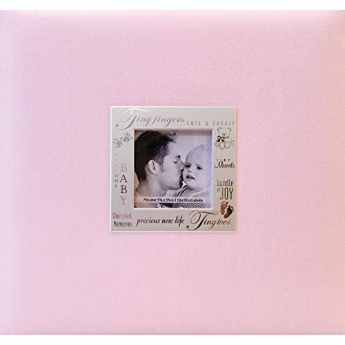 Expressions Scrapbook Album - MBI Expressions Post Bound Album, 8 by 8-Inch, Baby Pink