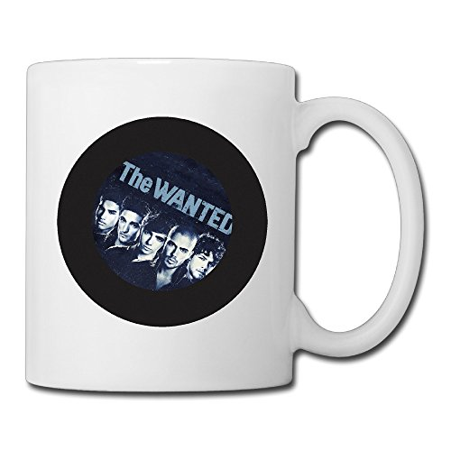 Cool The Wanted Ceramic Coffee Mug, Tea Cup | Best Gift For Men, Women And Kids - 13.5 Oz, White