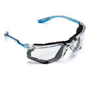 3M Virtua CCS Protective Eyewear 11872-00000-20, Foam Gasket, Anti Fog Lens, Clear