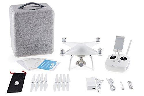 DJI Phantom 4 Refurbished Drone Sports & Action Video Camera, Artic White (Certified Refurbished) (Phantom - Slow Motion Camera Phantom