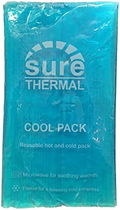 SURE THERMAL TRANSPARENT RE-USABLE LARGE GEL HOT/COLD HEAT COOL ...