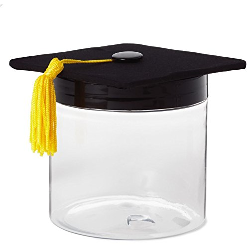 Hallmark Graduation Cap Gift Card Box Decorative Accessories Milestones ()