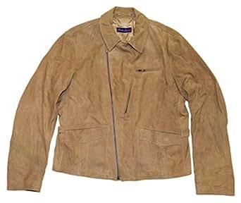 Ralph Lauren Polo Purple Label Men Suede Leather Jacket