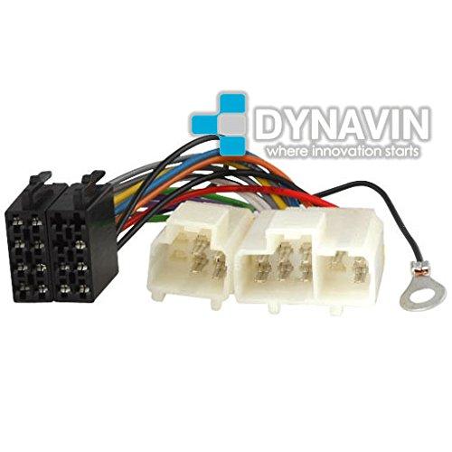 ISO-NIS.1995 - Conector iso universal para instalar radios en Nissan. Dynavin
