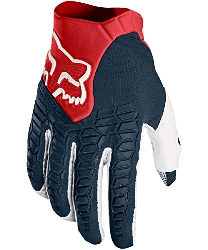 Fox Racing 2018 Pawtector Gloves (Small) (Navy/RED)