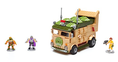 Metal Classic Wagon (Mega Bloks Teenage Mutant Ninja Turtles Classic Series Party Wagon Construction Set)