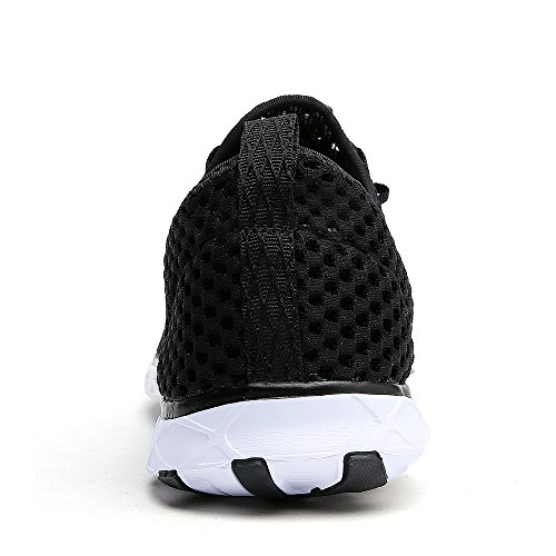 Athletic Lightweight Shoes Dreamcity Shoes Sport Women's Water 212blackwhite Walking qvwzB1tZnx
