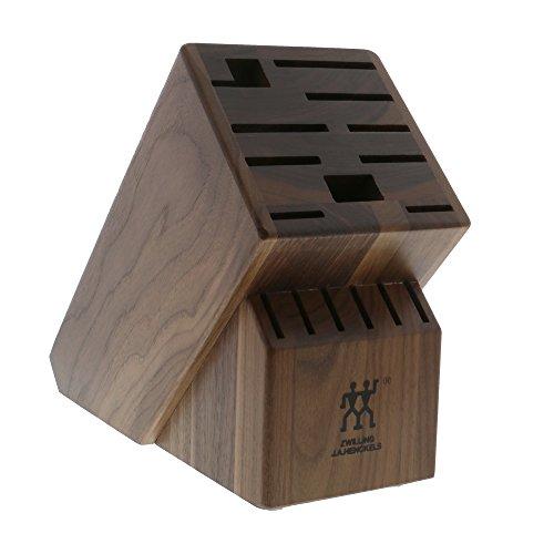Walnut Block (ZWILLING J.A. Henckels TWIN 16-slot Knife Block - Dark Walnut)