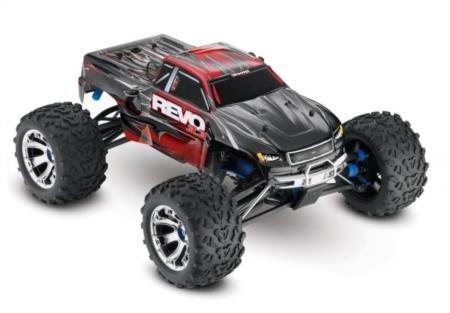 Traxxas Revo 3.3: 1 10 Scale 4WD Nitro-Powered Monster Truck with TQi 2.4GHz Radio & TSM - Red
