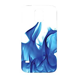 Blue Flame Snap on Plastic Case Cover Compatible with Samsung Galaxy S5 GS5 by icecream design