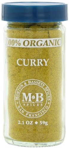 Morton & Bassett Organic Curry, 2.1-Ounce Jars (Pack of 3) (Bassett Curry)