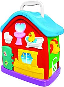 Kiddieland Light N Sound Activity Play House Model (49510)
