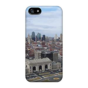 Flexible Back Case Cover For Iphone 5/5s - Kansas City