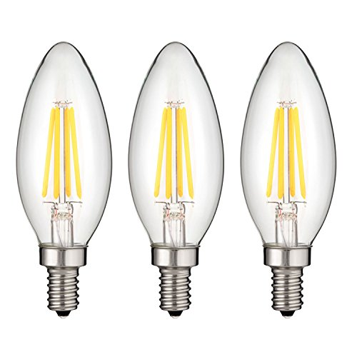 Sunlite Edison Dimmable Filament Candelabra