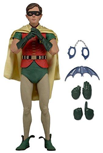 Neca Batman 1966 TV Series Burt Ward as Robin 1/4 Scale Action Figurine