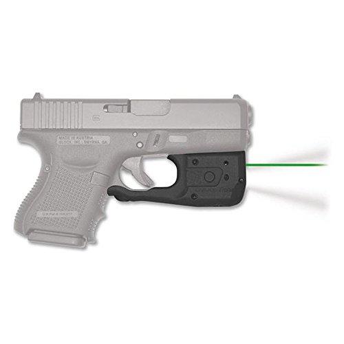 Crimson Trace LL-810-G Tactical Flashlight for Glock Compact Gen 3 & 4 26/27/29/30/33/36/39 Laser Guard Pro, Green Laser Sight