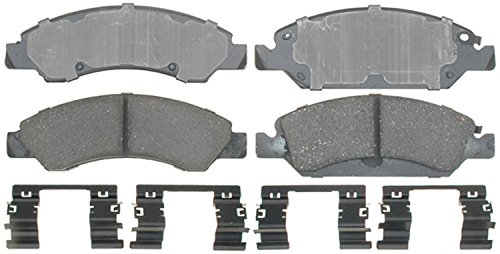 Avalanche Pads Brake - ACDelco 17D1367CH Professional Ceramic Front Disc Brake Pad Set