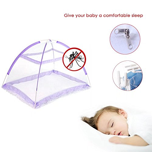 KateDy Baby Mosquito Net Yurts Nets,Baby Kids Bed Crib Tent Safety Net Pop Up Canopy Cover,Summer Gift Anti Mosquito Bites,Pack of 1,55.11