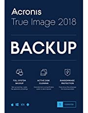 Acronis True Image 2018 Backup Software