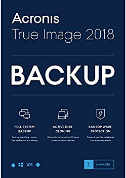 Acronis True Image 2018 for 1 Device (Retail Box)
