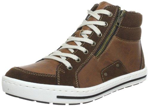 Rieker 38034 Hommes Haut Chaussures De Sport Marron (cigare /